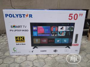Polystar 50 Inches Led 4k Smart High Definition Netflix Tv | TV & DVD Equipment for sale in Lagos State, Ikeja