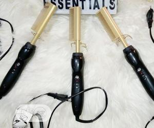 Electric Hot Comb For Natural And Virgin Hairs | Tools & Accessories for sale in Lagos State, Ojo