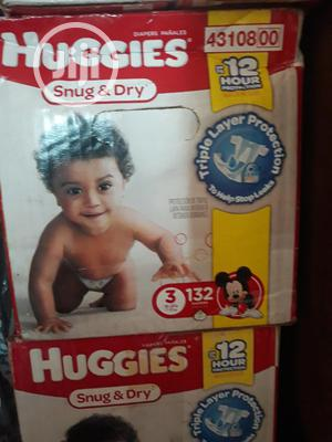 Huggies Snug and Dry Diapers Size 3   Baby & Child Care for sale in Lagos State, Oshodi