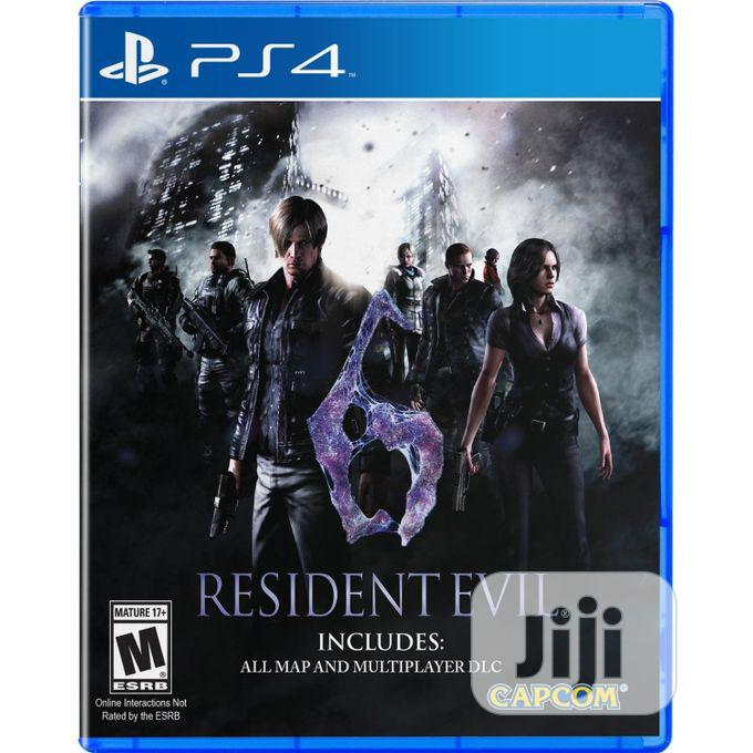 Archive: Ps4 Resident Evil 6