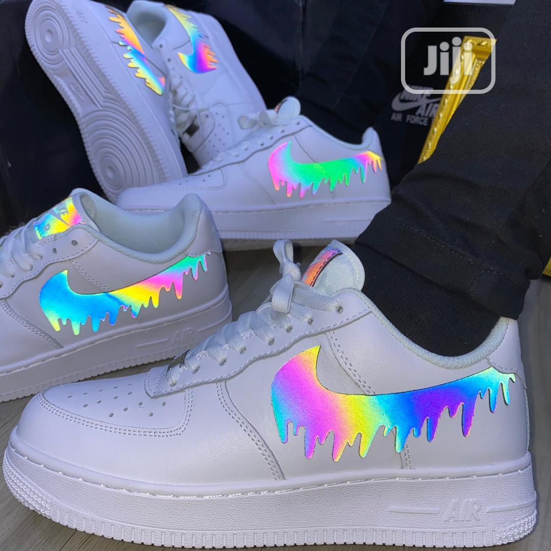 Nike Air Force 1 Thunder Reflectiion in
