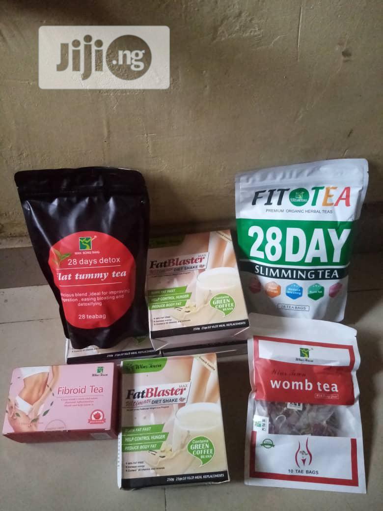 Wholesale Fit Tea,Fat Blaster Tea,Tummy,Womb And Fibroid Tea | Sexual Wellness for sale in Ojodu, Lagos State, Nigeria