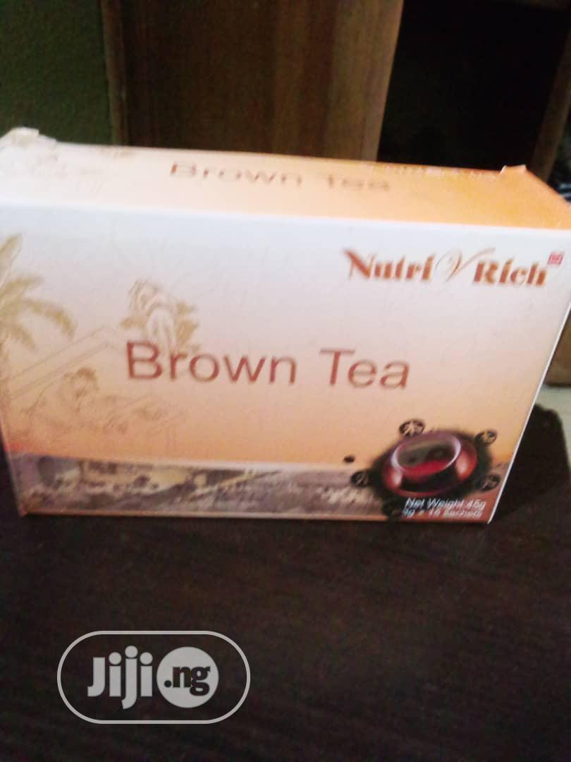 Archive: Longrich Brown Tea(Bloodbfat N Tummy Reduction)