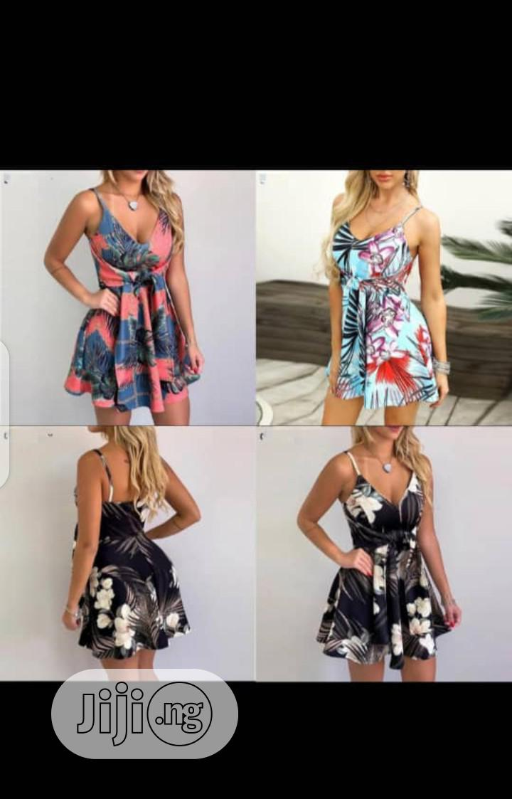 New Female Playsuit Dress   Clothing for sale in Ojo, Lagos State, Nigeria