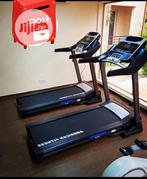 3hp American Fitness Heavy Duty Commercial Treadmill   Sports Equipment for sale in Lagos State, Lekki