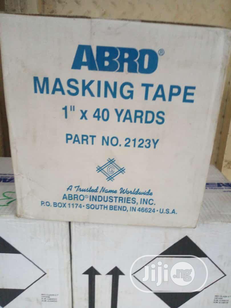 Archive: Abro Masking Tape