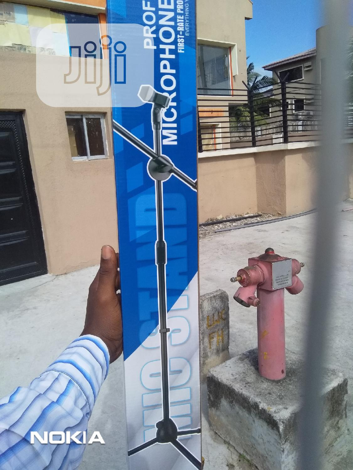 Microphone Stand | Accessories & Supplies for Electronics for sale in Ikeja, Lagos State, Nigeria