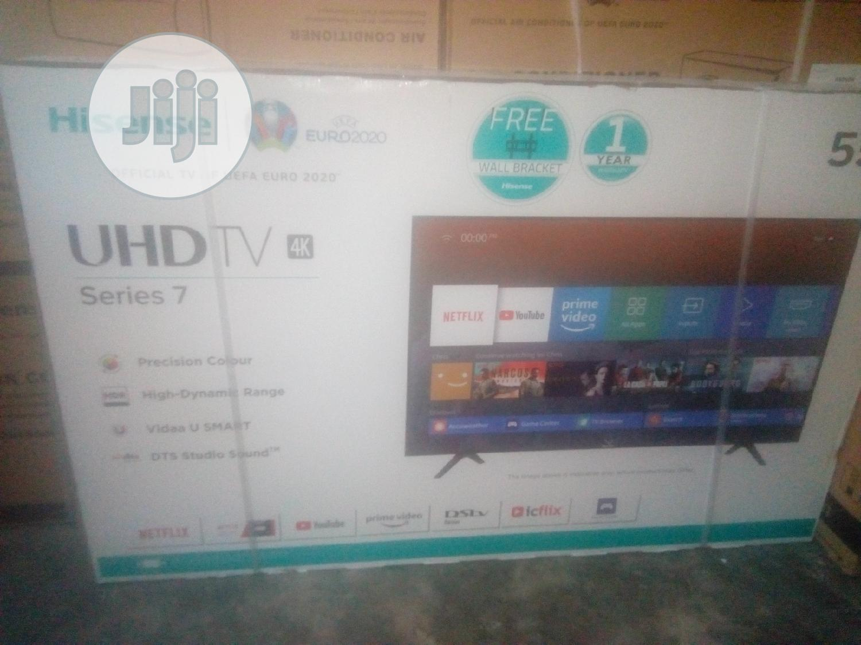 Hisense 65' Smart UHD 4K Led TV-65B7100 +Free Wall Bracket | TV & DVD Equipment for sale in Ojo, Lagos State, Nigeria