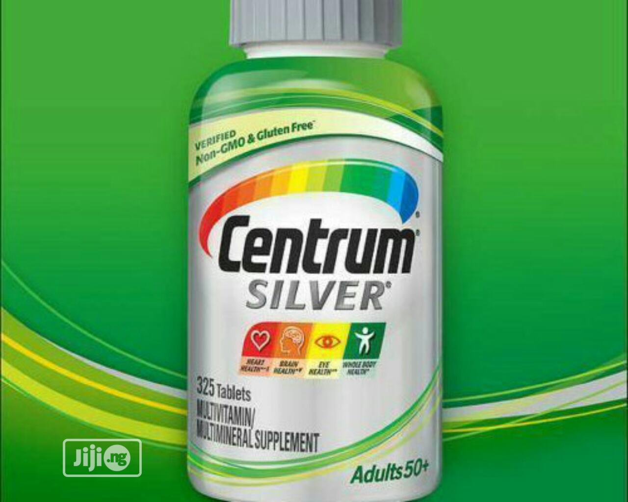 Archive: Centrum Silver Adults 50+ Multivitamin Tablets