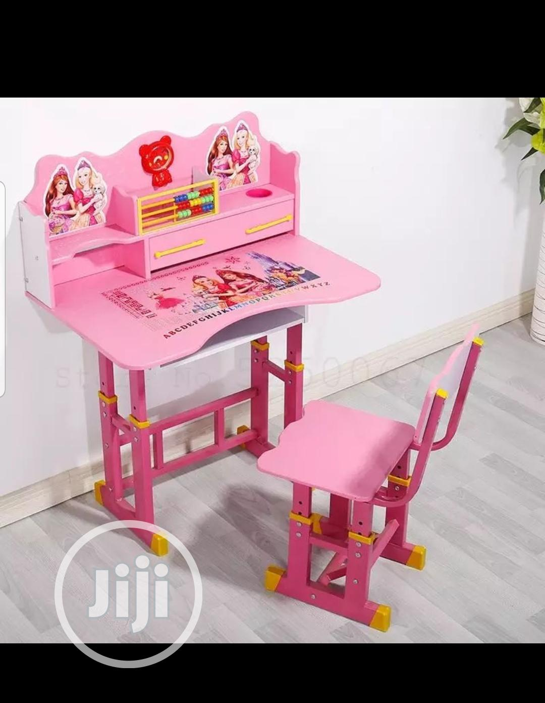 Kids, Chair &Table (Pink&Blue