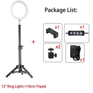12inch Dimmable LED Studio Camera Ring Light   Accessories & Supplies for Electronics for sale in Lagos State, Lekki