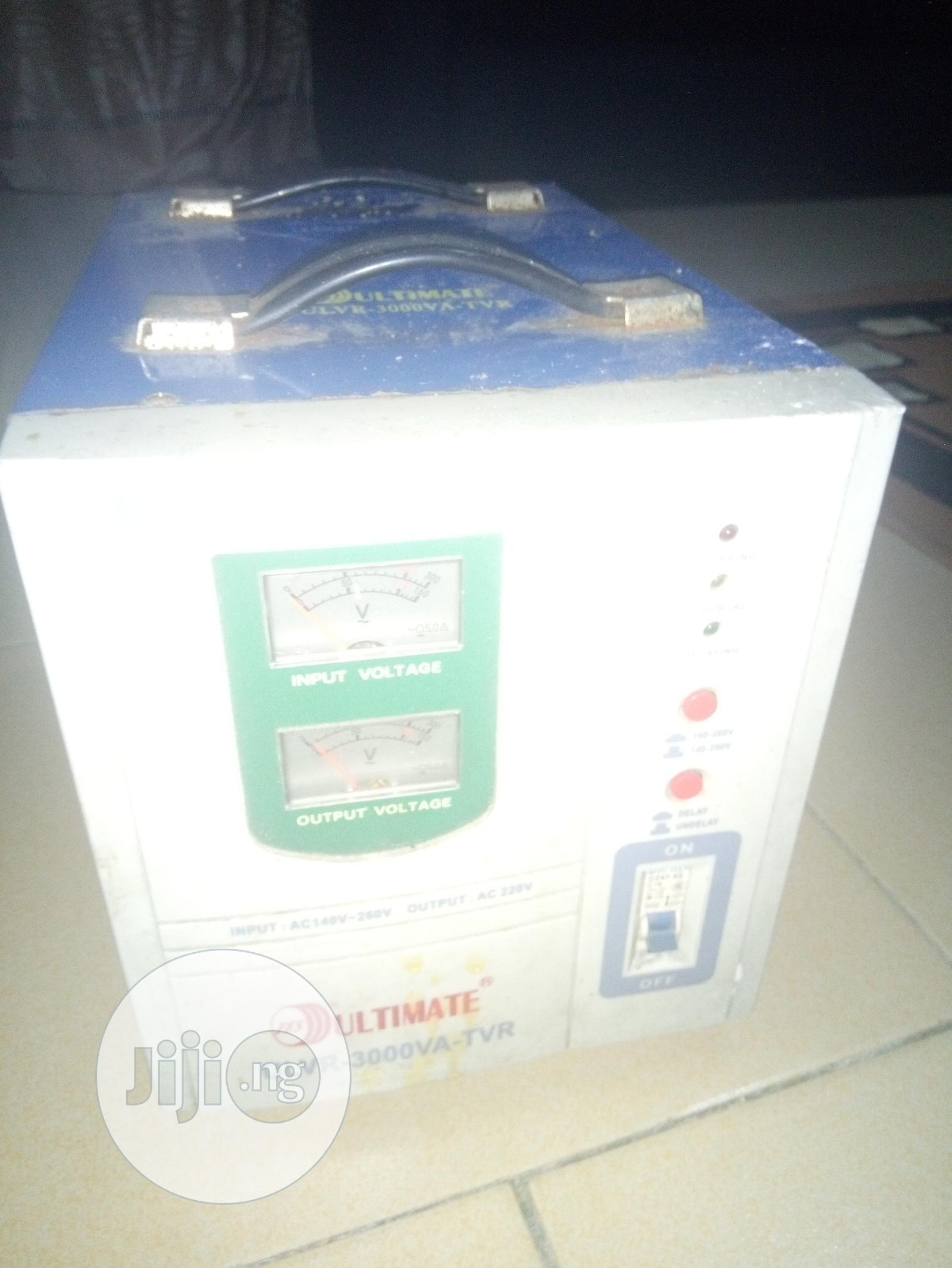 3000VA Ultimate Power Stabilizer   Electrical Equipment for sale in Warri, Delta State, Nigeria
