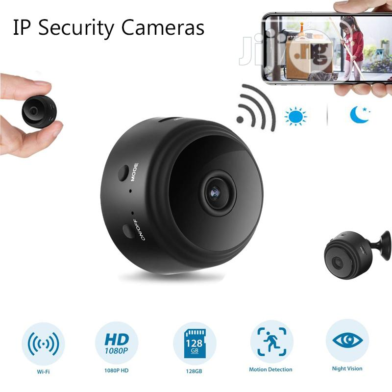 A9 Full HD 1080P Wifi IP Camera Battery Powered | Security & Surveillance for sale in Ikeja, Lagos State, Nigeria