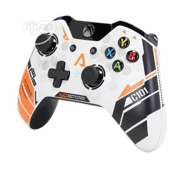 Xbox One Wireless Controller - Titanfall Limited Edition | Accessories & Supplies for Electronics for sale in Ikeja, Lagos State, Nigeria
