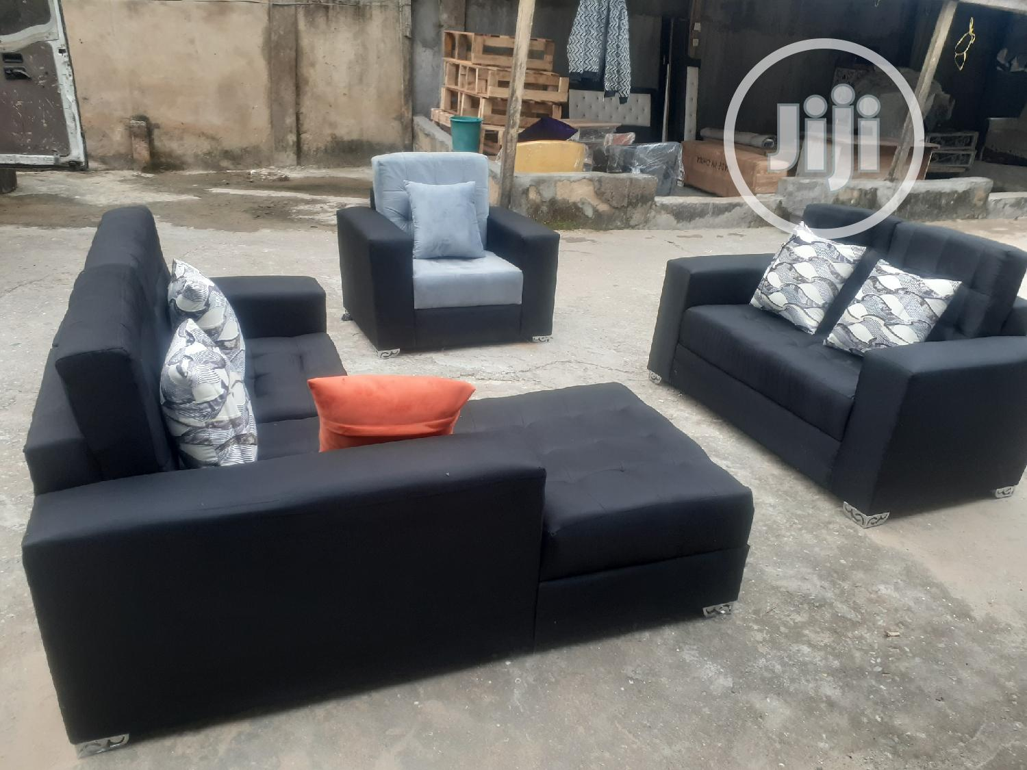 L Shape Fabric Chair   Furniture for sale in Ojo, Lagos State, Nigeria