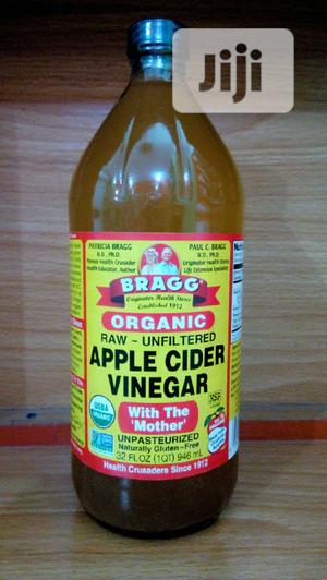 Bragg Organic Apple Cider Vinegar 946 ML (32FL Oz) | Vitamins & Supplements for sale in Lagos State, Surulere