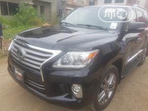 Lexus LX 2014 570 Base Black | Cars for sale in Lagos State, Ojodu