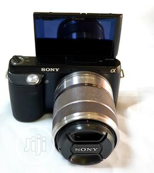 Sony NEX-F3 Mirrorless Camera With 18-55mm Lens | Photo & Video Cameras for sale in Lagos State, Ikeja