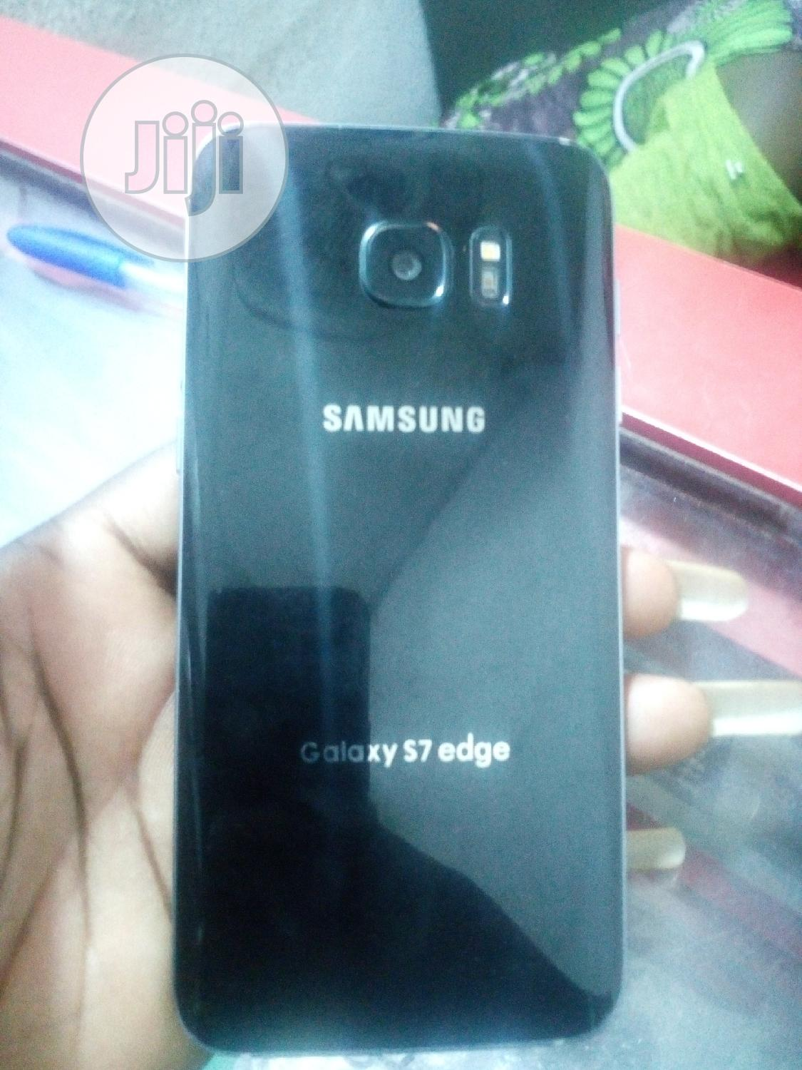 Samsung Galaxy S7 edge 32 GB Black | Mobile Phones for sale in Ikeja, Lagos State, Nigeria