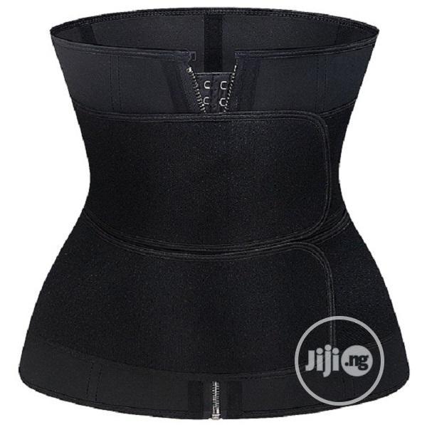 Original 2 Straps Waist Trainer Hook and Zipper,9 Steel Bone | Clothing Accessories for sale in Alimosho, Lagos State, Nigeria