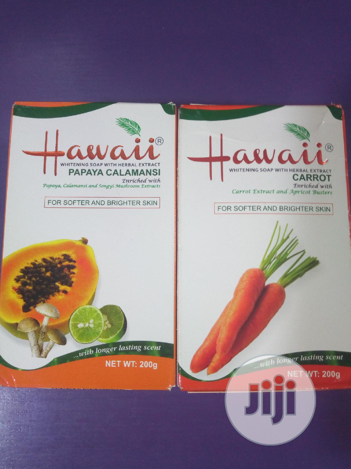 Archive: Hawaii Whitening Soap
