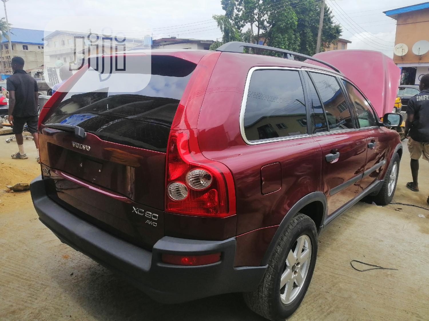 Archive: Volvo XC90 2004 2.5 T Red