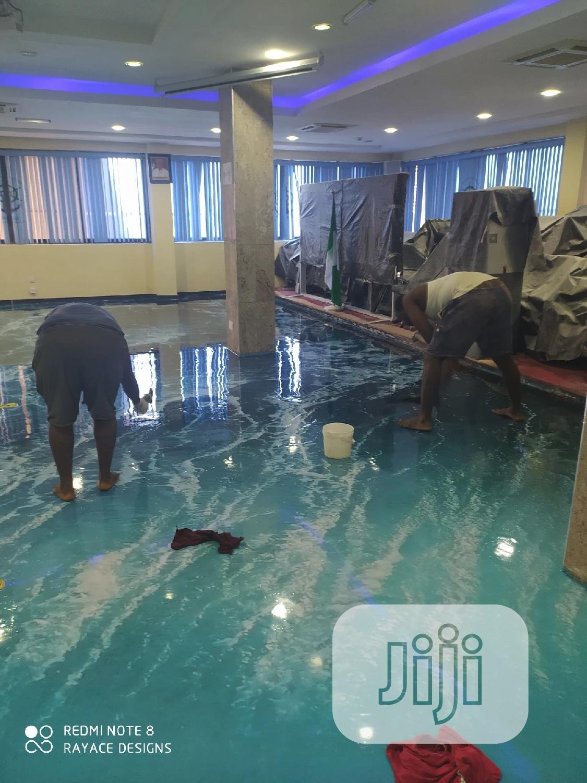 3d Epoxy Floor in Apapa(Nimasa Marine House)   Building & Trades Services for sale in Apapa, Lagos State, Nigeria