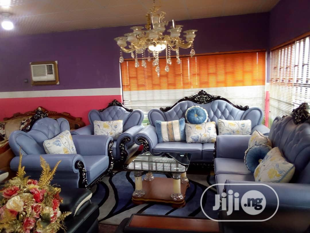 Royal Imported Sofa 7 Seater Leather