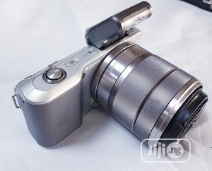 Sony NEX-3 Mirrorless Camera With 18-55mm Lens | Photo & Video Cameras for sale in Lagos State, Ikeja