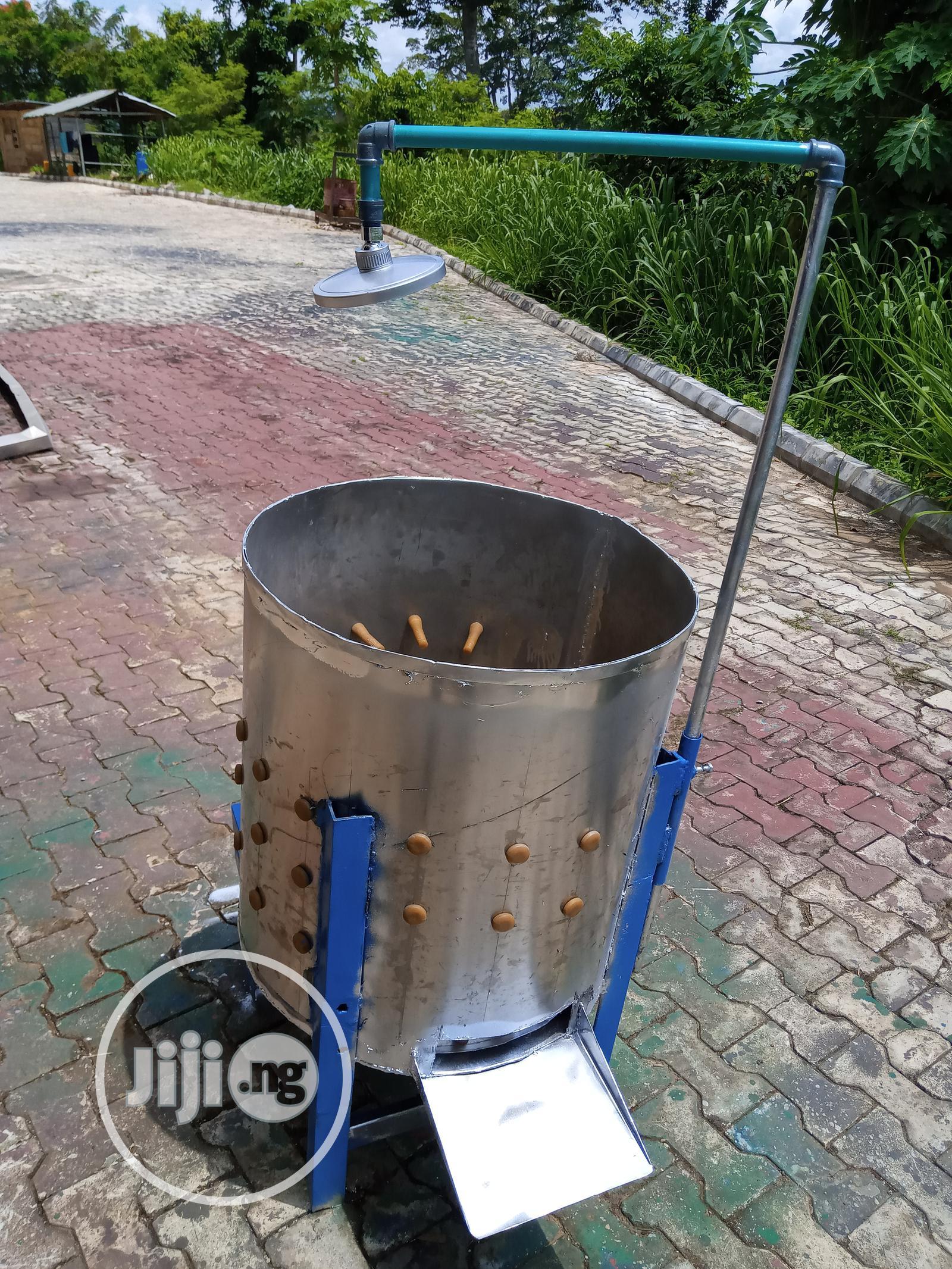 Archive: Chicken Defeathering Machine