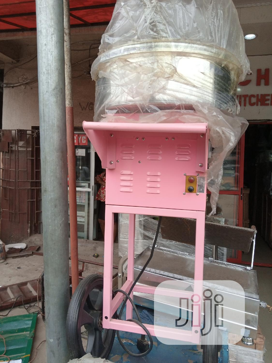 Candy Floss Machine ( With Music Player And Cart)
