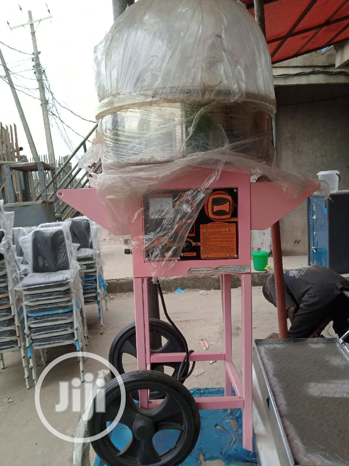 Candy Floss Machine ( With Music Player And Cart) | Restaurant & Catering Equipment for sale in Ojo, Lagos State, Nigeria
