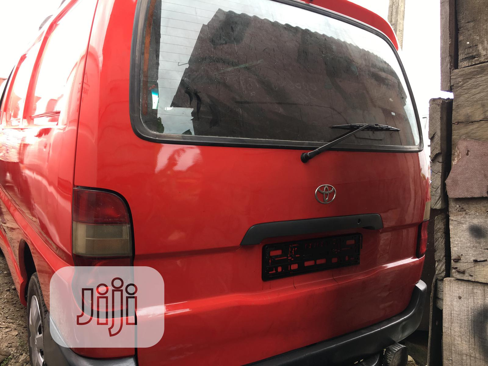 Archive: Toyota Hiace Container Body Short