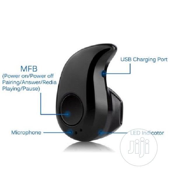 Wireless Bluetooth Stereo In-Ear Headset - Black