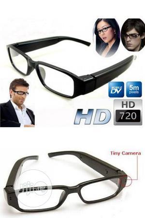 Spy Hidden Camera Eyeglasses Portable Video Recorder Eyewear | Security & Surveillance for sale in Lagos State, Ikeja