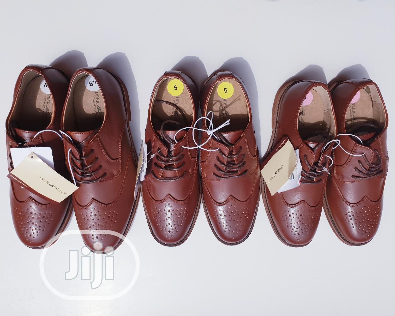 Boys Formal Lace-Up Shoe