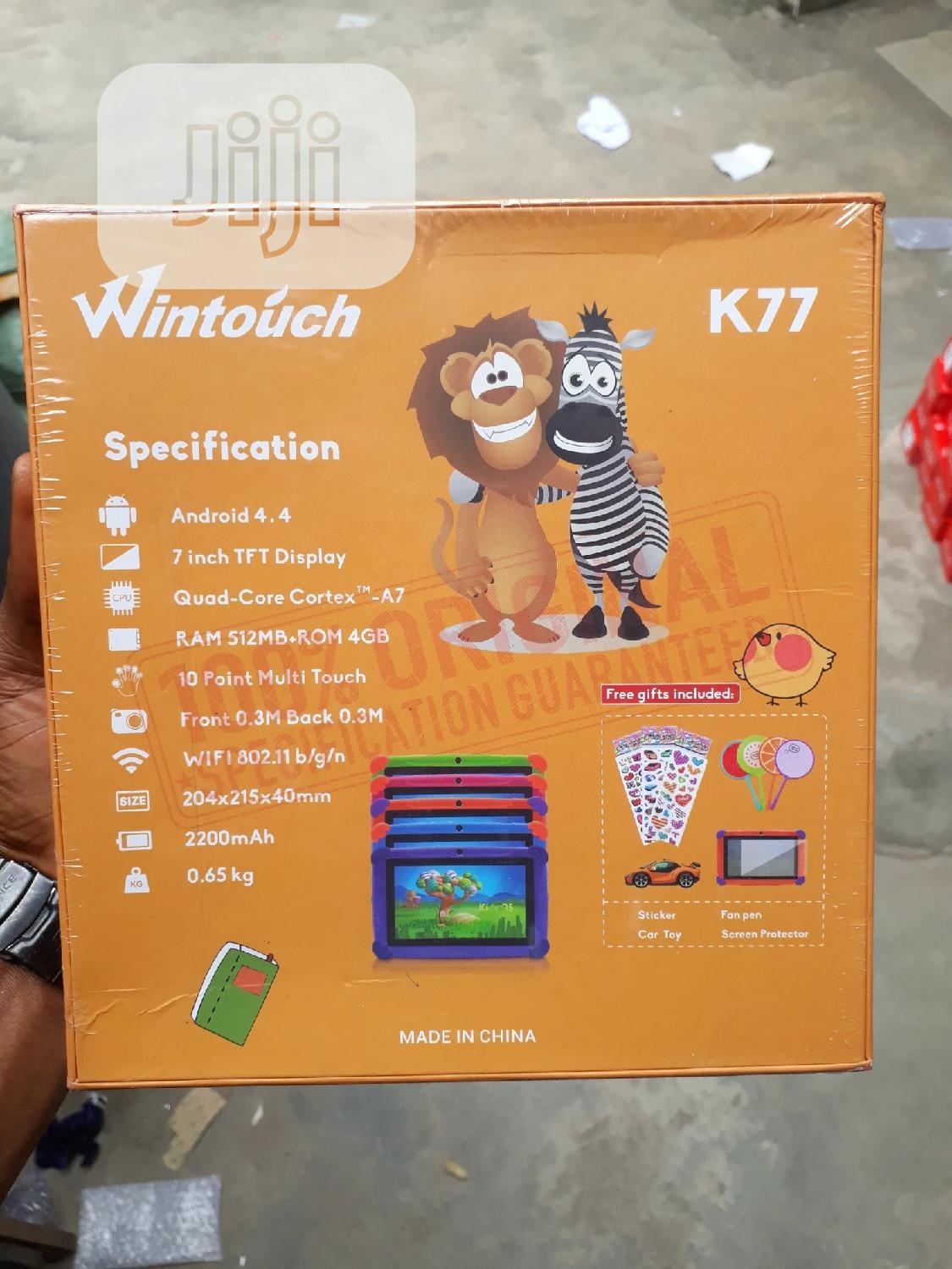 New Wintouch K77 4 GB   Tablets for sale in Ikeja, Lagos State, Nigeria