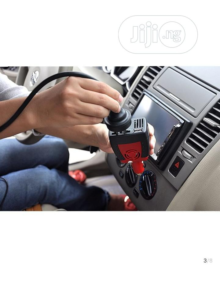 Car Dec DC/AC 150W Car Inverter With USB 2.1A | Vehicle Parts & Accessories for sale in Ikeja, Lagos State, Nigeria