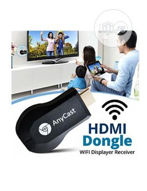 Anycast HDMI Streamer Wifi Display Receiver TV Dongle | Accessories & Supplies for Electronics for sale in Lagos State, Ikeja