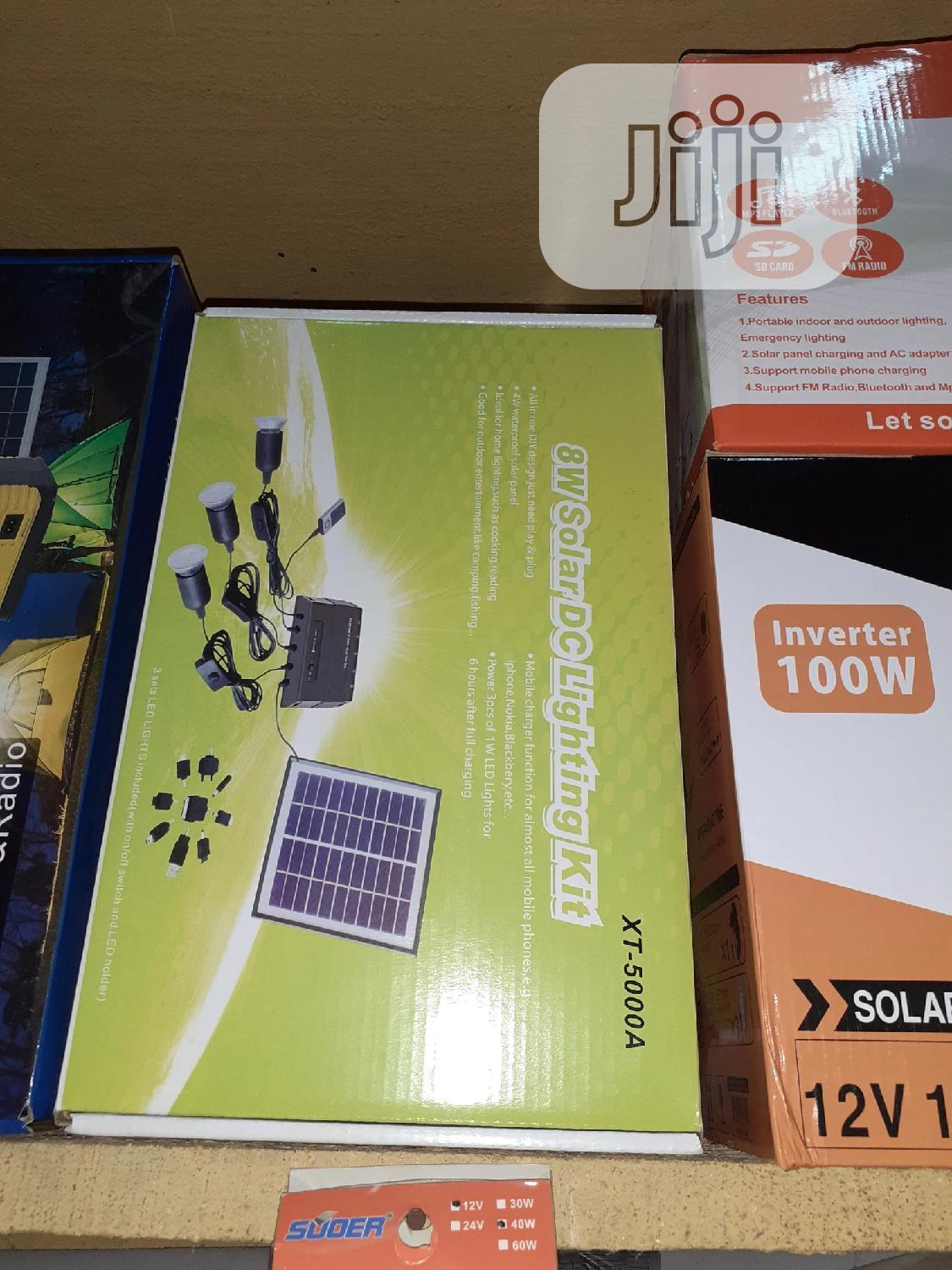 All in One Solar Light With Charger Nd Panel Is Available