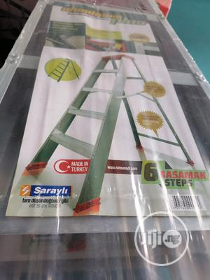 Aluminum Ladder 6 Steps A Form.. | Hand Tools for sale in Lagos State, Maryland