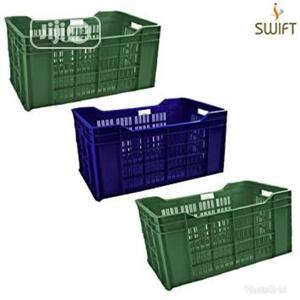 Plastic Crate Box Good Strong Quality | Store Equipment for sale in Lagos State, Lagos Island (Eko)
