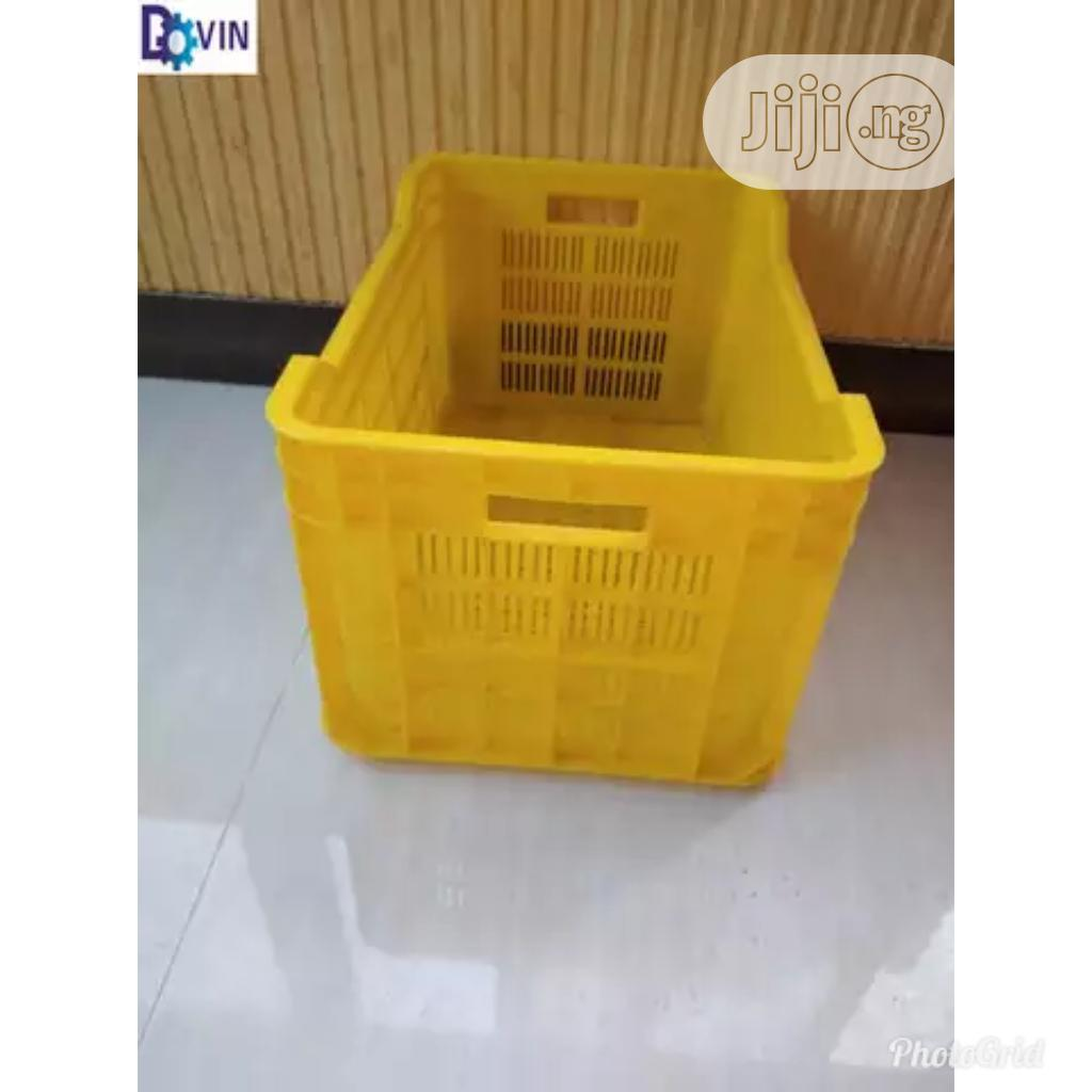 Plastic Crate Box Good Strong Quality | Store Equipment for sale in Lagos Island (Eko), Lagos State, Nigeria
