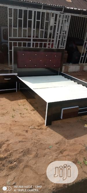 Quality Family Bed With One Bedside | Furniture for sale in Edo State, Benin City