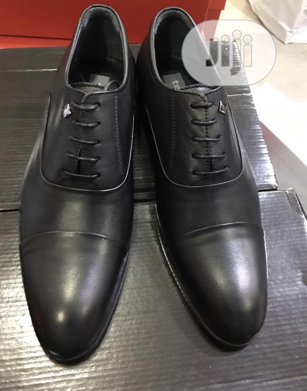 Tezcon Pure Italian Leather Oxford Lace Up Shoe for Men | Shoes for sale in Lekki, Lagos State, Nigeria