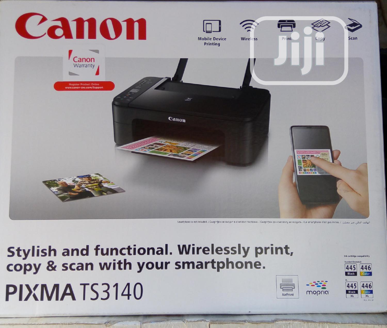 CANON TS3140 Wireless All-in-printer