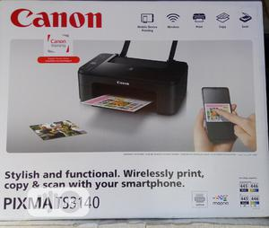 CANON TS3140 Wireless All-in-printer | Printers & Scanners for sale in Lagos State, Ikeja