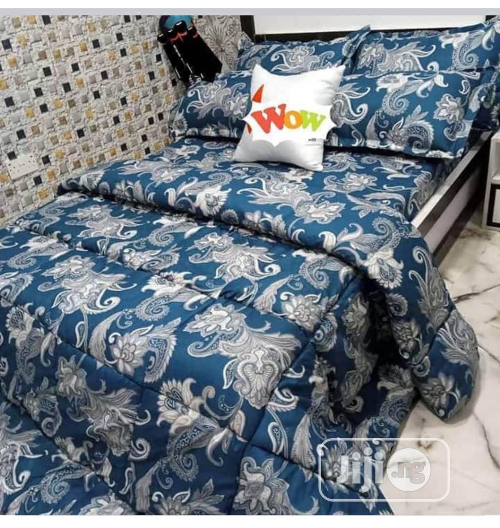 An Outstanding Duvet, Bedsheet With 4 Pillow Cases