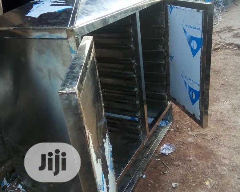 250pieces ×1kg Stainless Fish Smoking Kiln