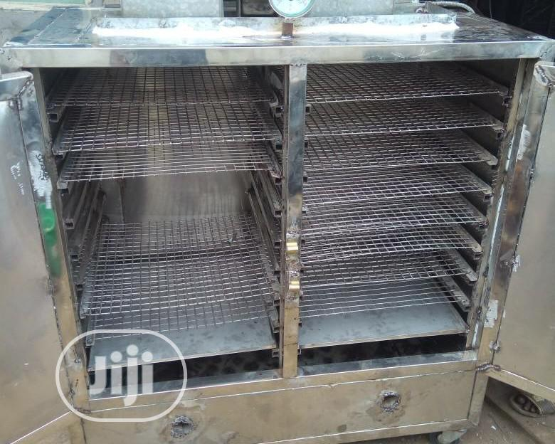 150pieces × 1kg Stainless Steel Fish Smoking Kiln
